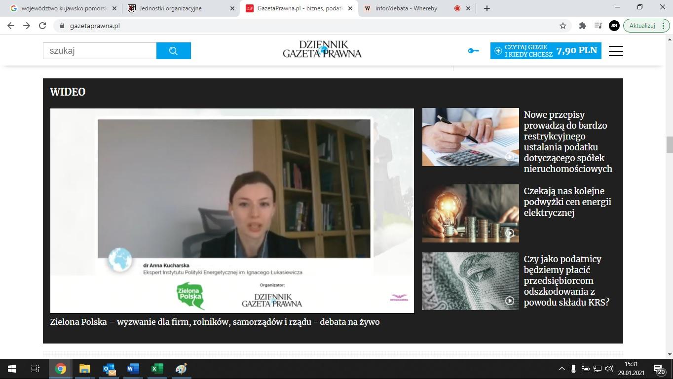 Anna Kucharska - Instytut Polityki Energetycznej